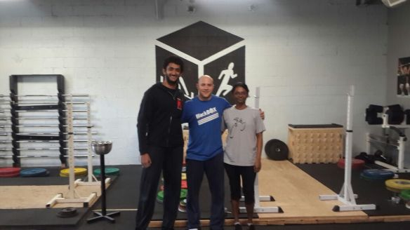 Dutch Lowy runs BlackBox, the gym that hosted the seminar. He was also in 2 CrossFit Games!